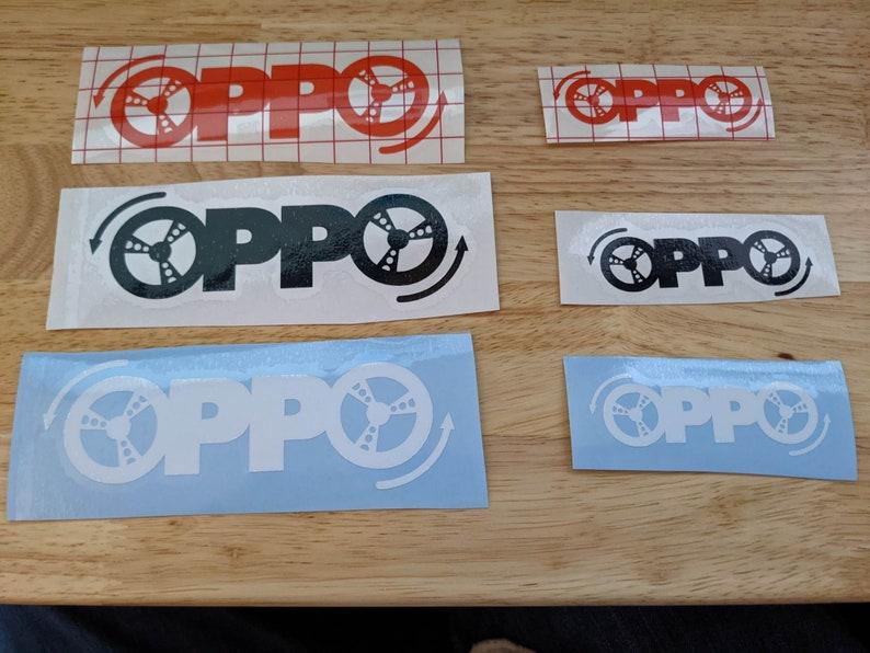 Opposite-Lock Oppo Decal image 1