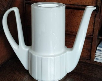 Beautiful WMF Art Deco cream-colored teapot