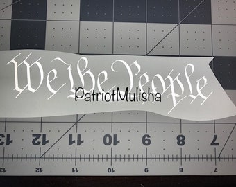 255d8bbf133 We the people decal