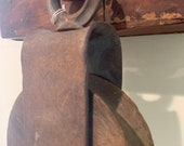 Early 20th century antique barn pulley