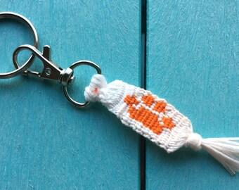 Clemson Tiger Keychain