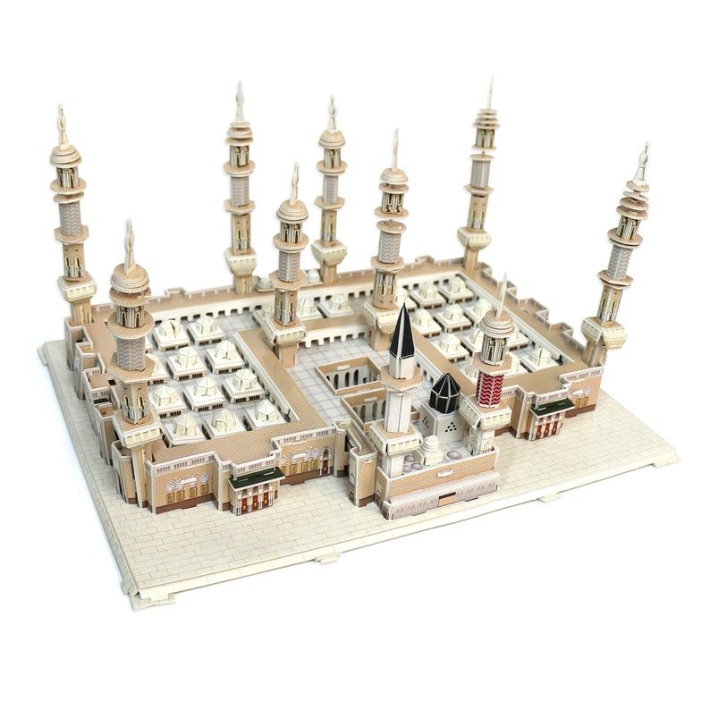 Masjidal Madinah an-Nabawi Mecca Mosque 3D Puzzle