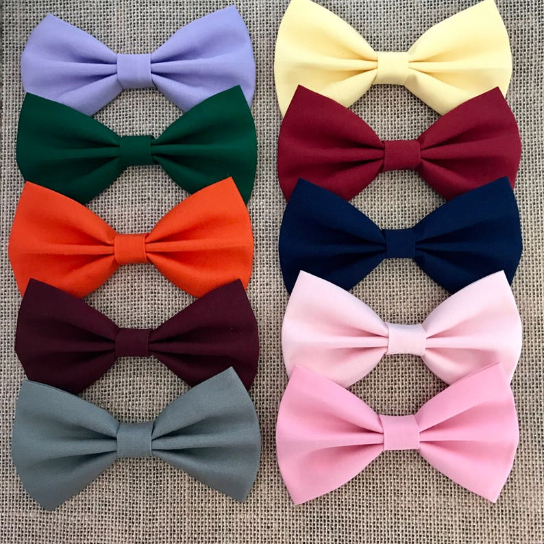 """200 BLESSING Good Girl 3.25/""""//4.5/"""" Boutique Hair Bow Clip 5 Style"""