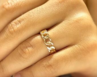 b48d594969819 Cuban link ring | Etsy