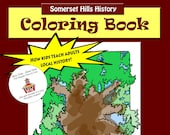 SPECIAL - Somerset Hills History Coloring Book