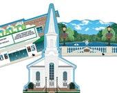 BUNDLE SPECIAL: Westfield (3) Village Collectibles