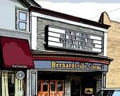 Bernardsville Cinema c. 1918-PRE-ORDER