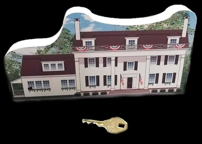1777 Elias Boudinot House/Ross Farm  Basking Ridge Wood image 0