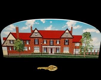 1912 Astor Estate (Municipal Hall)  Bernards Township, NJ Cat's Meow Wooden Collectible