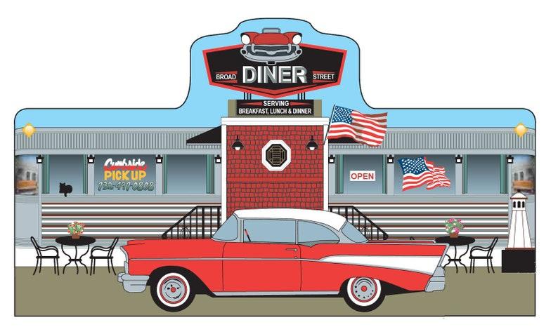 1912  Ultimate Jersey Diner Keepsake image 0