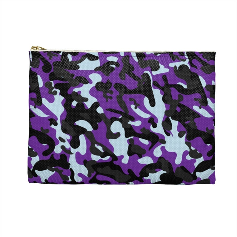 Zipper Pouch Pencil Case Camouflage Accessory Pouch Coin Purse