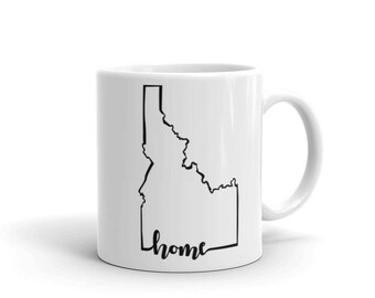 Idaho Home State - Coffee Mug