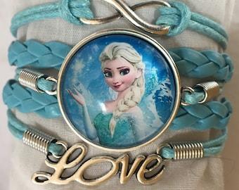Princess Anna Infinity Love Bracelet