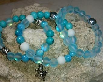 Set of 3 Yoga/Beach Bracelets