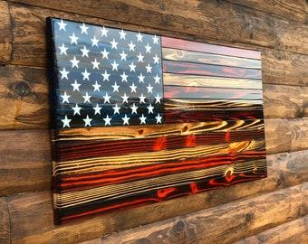 American Flag Wall Art Etsy