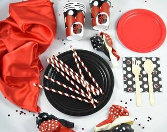 Ladybug Party Box, Ladybird Party Box, Ladybug Birthday