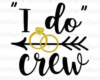 I do crew SVG Clipart Cut Files Silhouette Cameo Svg for Cricut and Vinyl File cutting Digital cuts file DXF Png Pdf Eps