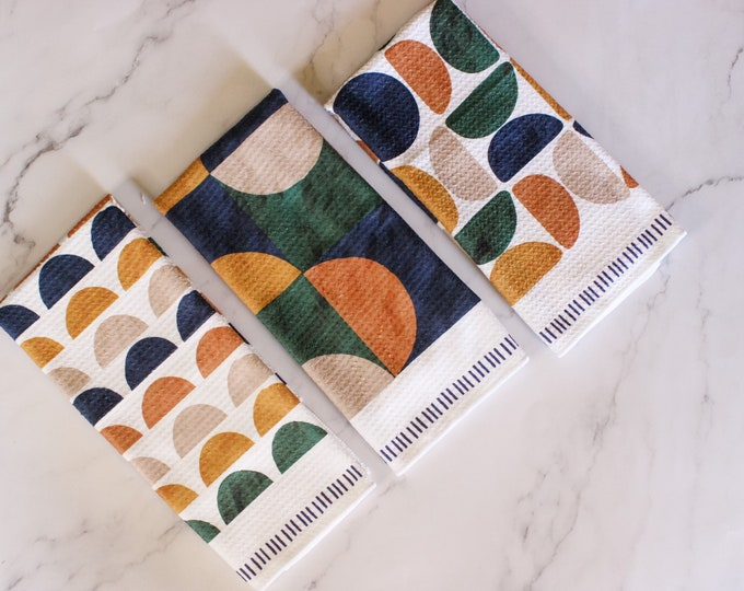 Featured listing image: Geo Boho Trio Towel Set - 3pk -