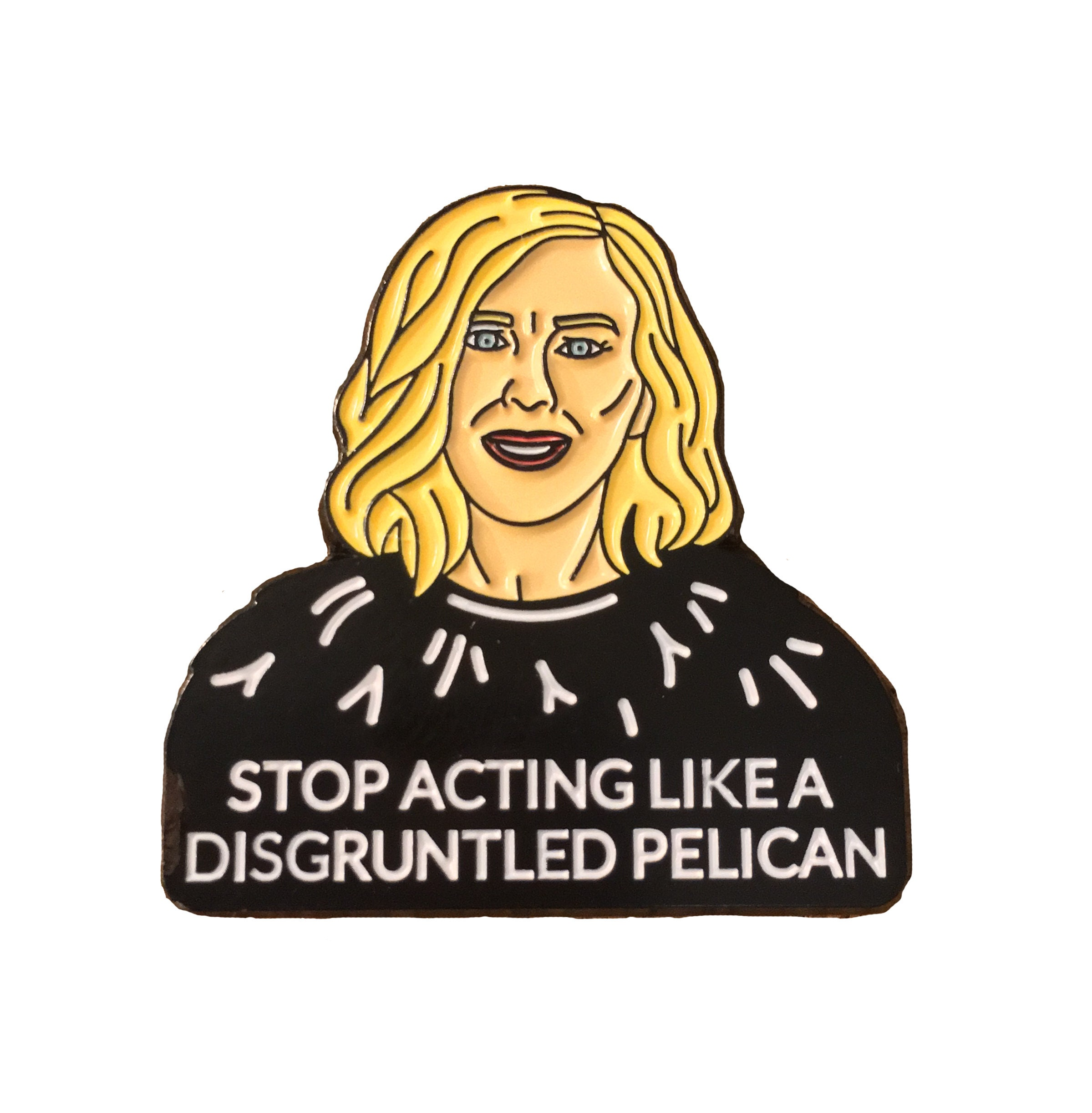 Schitt's Creek - Moira Rose | Enamel Pin | Pin | Catherine O'Hara | Lapel  Pin | Schitt's Creek |