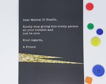 Dear Mental Ill Health Card