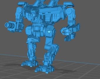 "PMW ""Zealot Praetor"" Printed Battletech Miniature"
