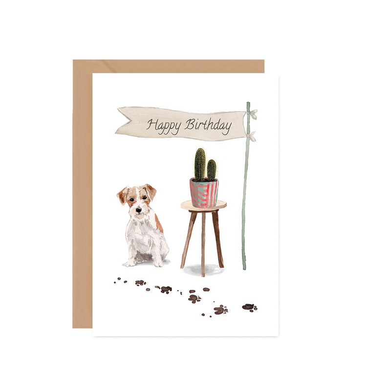 Jack Russell Birthday Cards HAPPY BIRTHDAY