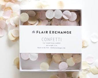 Confetti, Handcut Confetti - Blushing