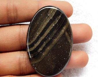 82.00 Cts Willow Creek Jasper oval Shape loose gemstone Cabochon 52x33x6 MM