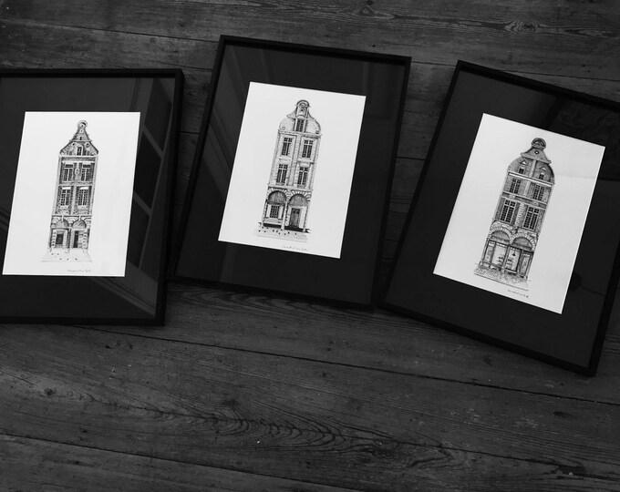 3 frames / Arras
