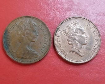 Elizabeth Ii Coins Etsy