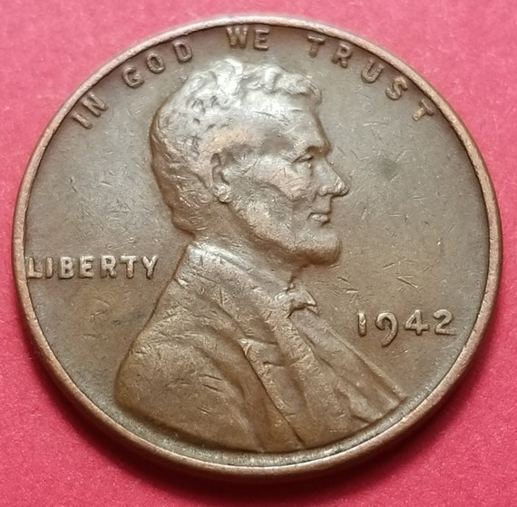 1942 Wheat Penny Lincoln Pennies Rare Pennies