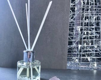 Crystal Reed Diffuser with Rose Quartz and Essential Oil