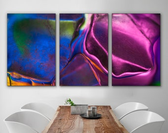 Tableau Abstract Etsy