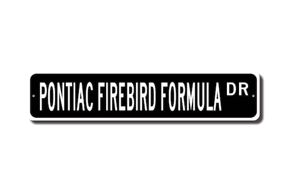 GM LICENSED Mirror Acrylic Customize Colors!!! Retro Firebird Emblem