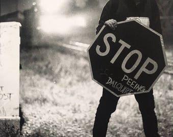 Stop Peeing Daiquiri - Silver Gelatin Print 8x10 Film Photographic Print