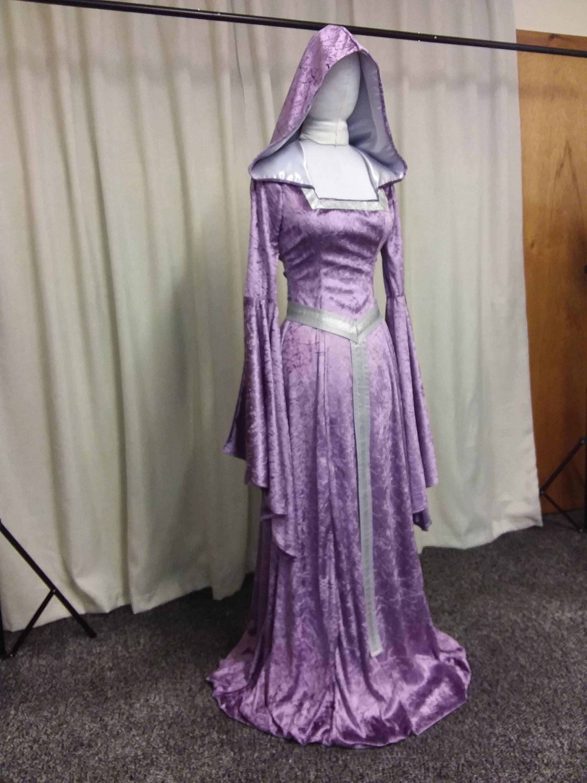 Famoso Vestido De Dama Medieval Imagen - Vestido de Novia Para Las ...