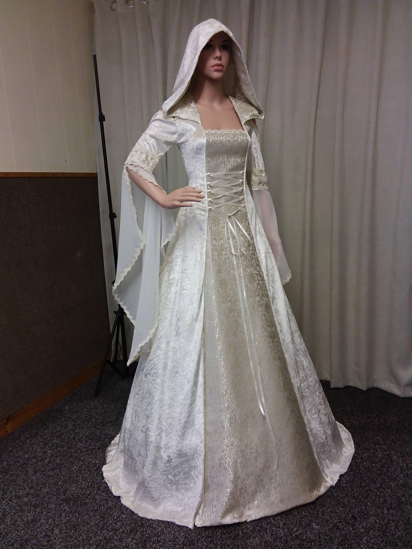 Keltische Hochzeitskleid mittelalterliche Hochzeit