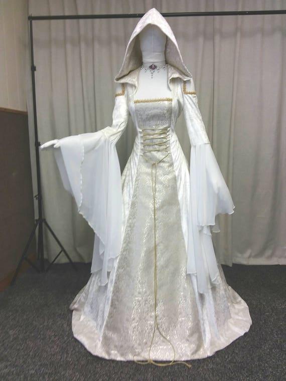 Celtic wedding dress renaissance dress medieval wedding | Etsy