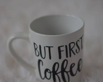 Coffee lovers personalized coffee mug