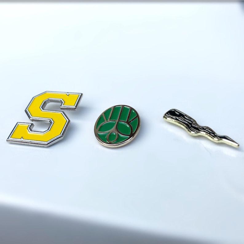 "New Buffy the Vampire Slayer /""Spike/"" Logo Enamel Pin"