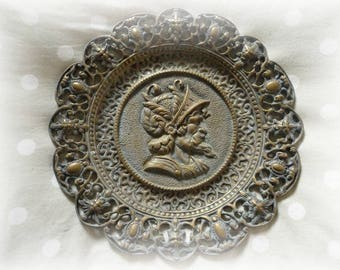 Very old vintage collectible decorative plate