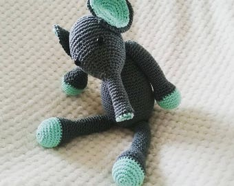 Haekelanleitung Elefant Etsy