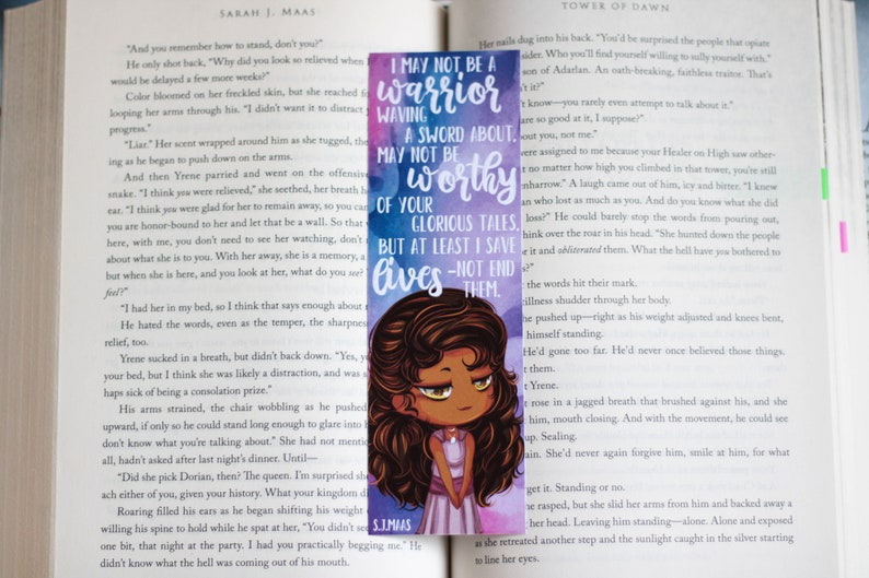 Yrene Towers Bookmark Etsy
