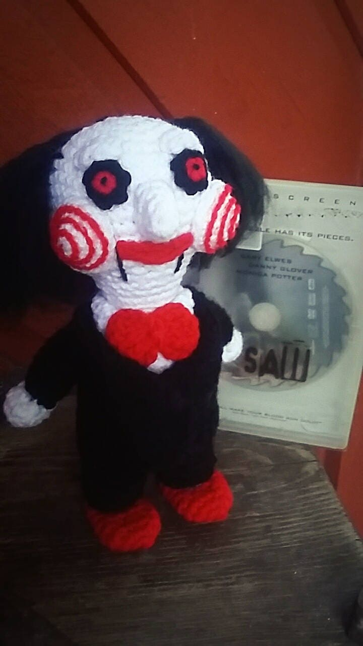 Crochet Pattern for Jigsaw Billy from the Saw | Etsy