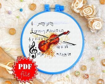 Make a Miniature Quilled Violin or Cello | Paper quilling jewelry ... | 270x340