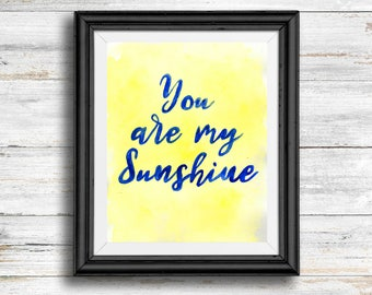 You Are My Sunshine- Digital Download