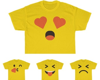 3ba4681022 Emoji Adult Shirts Men