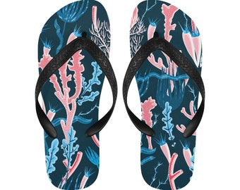 f2d72850d611 Coral summer flip flops beach flip flops men and women slippers size  options jpg 340x270 Funny