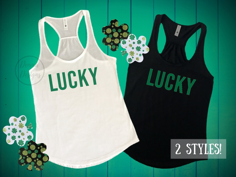 4c554b7af St Patty Day Tank Tops St Paddy Day Tank Tops St Paddys Day | Etsy
