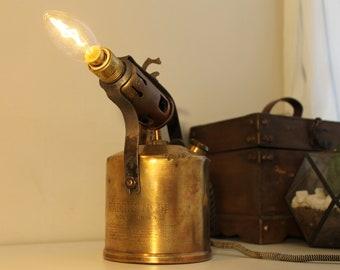 Vintage retro edison lamp Radius Kerosene blow torch No 55